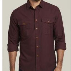 Men's in-tuck it button up